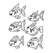 10 free printable tropical fish coloring pages