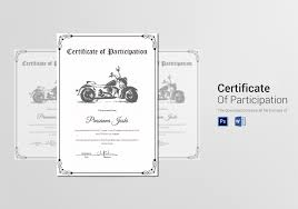 doc634494 certificate of participation template receipt for
