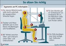 si e ergonomique leitfaden zum richtigen sitzen wie stellt den bürostuhl