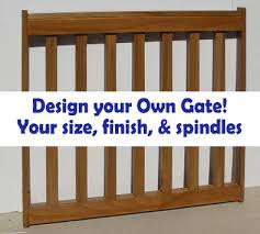 Baby Gate For Stairs With Banister And Wall Gates2u Custom Pet Gates Custom Baby Gates Custom Deck Gates