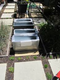 Metal Planter Box by Hiding That B H Of A Retaining Wall U2026 U2026 Courtney Out Loud