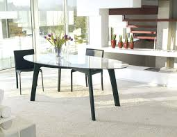 oval dining room tables extend one modern oval dining table measuring up decoration oval