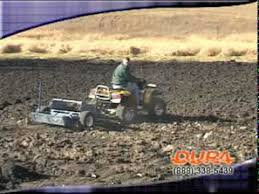 Atv Landscape Rake by Duragrade Hydraulic Rock Picker For Atvs And Utility Tractors
