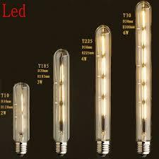 220v vintage antique retro led edison bulb e27 tube light bulbs