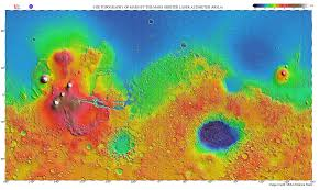 Arizona State University Map by Msip Mars Image Analysis Mars Education