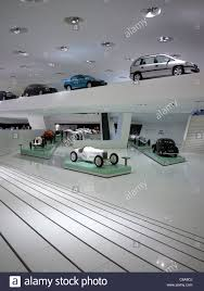 delugan meissl porsche museum interior of porsche museum in stuttgart germany stock photo