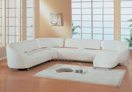 Modern White Sectional Sofa by Modern Style Small White Sofa With Sectional Couch Bonded Leather