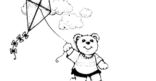kite coloring pages play bear gekimoe u2022 43716