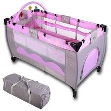 infantastic baby bed travel cot portable child nursery furniture
