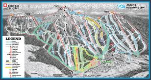 Washington Map by Mount Washington Alpine Resort Skimap Org