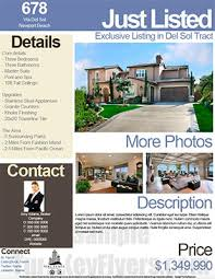 free real estate flyer templates real estate flyers pdf templates turnkey flyers