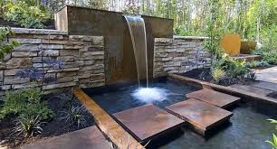 modern water feature modern water features unique contemporary outdoor fountains ideas