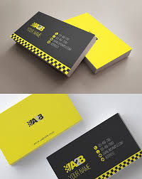 12 taxi business card templates free u0026 premium templates