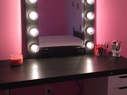 Bedroom Makeup Vanity With Lights Bedroom Beautiful Bedroom Makeup Vanity With Lights On Vanity