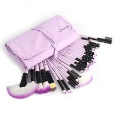 professional vander bag of makeup sets 32 24pcs make up bag brush