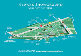 Newark Map Newark Showground U003e Showground Plan