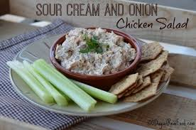 sour cream and onion chicken salad 100 days of real food