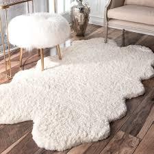 fuzzy rug furniture black fuzzy rugs urban outers rug amazoncom