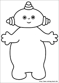 in the night garden coloring pages coloring page for kids
