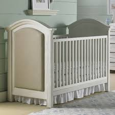 Baby Crib Convertible To Toddler Bed by Nursery Decors U0026 Furnitures Upholstered Convertible Crib In