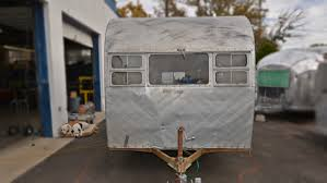 1950 traveleer vintage trailer restoration including airstream