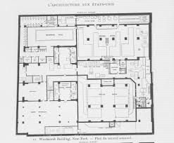 woolworth building plan second basement level other title u2026 flickr