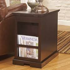 End Table Storage Three Posts Suffield End Table With Storage U0026 Reviews Wayfair