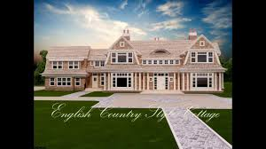 3d modeling and rendering of a luxury english country style home