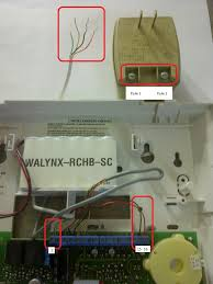 hooking up alarm panel plug electrical diy chatroom home
