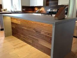 comptoir ciment cuisine comptoir de béton conception de comptoir trois rivière atelier