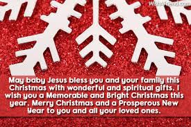 may baby jesus bless you and wish