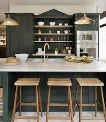 dark green kitchen cabinets dark green kitchens atticmag
