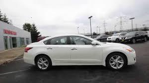 Nissan Altima White - 2015 nissan altima 2 5 sv pearl white fc148938 kent tacoma