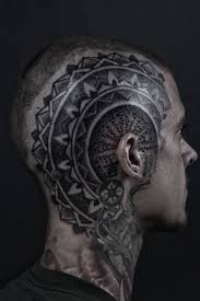 side of head tattoo 184 best tattooed heads images on pinterest crazy tattoos