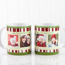 christmas personalized personalized christmas photo coffee mugs