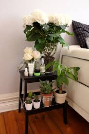 bedside step stool with plants home decor pinterest stools