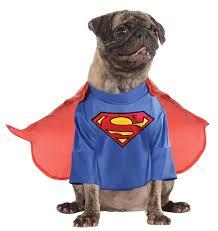 rubies superman clark kent dc comics halloween costume pet dog