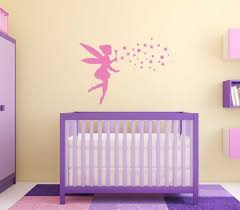amazon com fairy wall decal with pixie dust personalized vinyl amazon com fairy wall decal with pixie dust personalized vinyl sticker for girls room available in pink purple other colors home decor for nursery