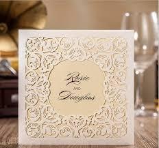 custom designed wedding invitations hot selling new designs beige wedding invitations custom