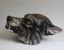 Werewolf Mask Finished Werewolf Mask By Feralworks On Deviantart