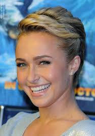 pixie braid hairstyles hayden panettiere pixie hairstyle with braids and twisted hair