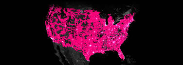 Verizon Coverage Maps 4g Lte Network 4g Network Built For Unlimited Coverage T Mobile