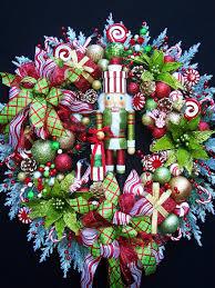 nutcracker wreath lg nutcracker christmas holiday wreath by
