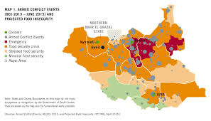 World Hunger Map by Consequences Of Conflict Coping With Hunger In South Sudan