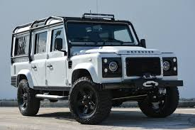 land rover series 3 custom this custom land rover defender is a bone white beauty maxim