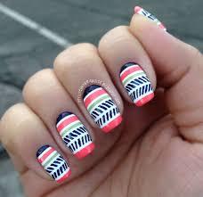 flower nail art design 15 easy u0026 simple spring flower nail art