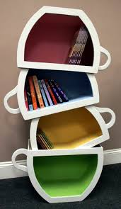 Where To Buy Bookshelves by Creative Kid Shelves With Stacked Teacup Creative Kids Bookshelf