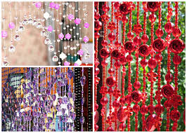 Beads For Curtains Decorative Curtains In Doorways By Your Own Hands Ideas And