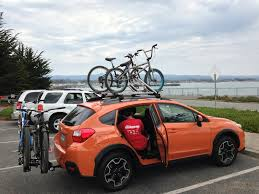 Subaru Forester Bike Rack by Bikes Crosstrek Central Bike Rack For 2017 Subaru Crosstrek