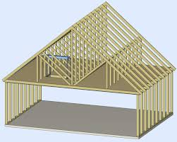 prefabricated roof trusses all about attics byers products group